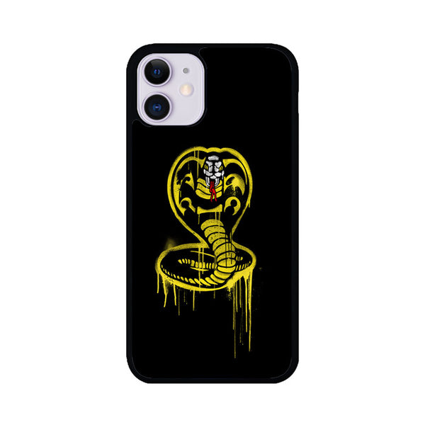 Cobra Kai Melt Brush Wallpaper iPhone 11 Case