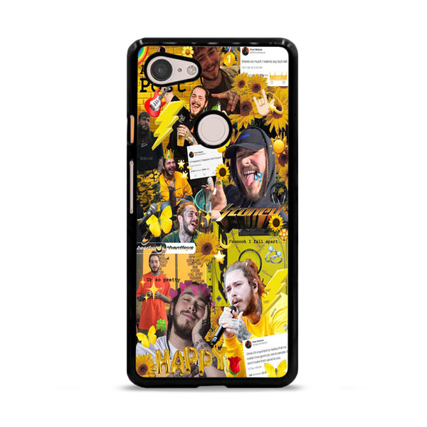 Post Malone Austin Post Photo Collages Google Pixel 3 XL Case