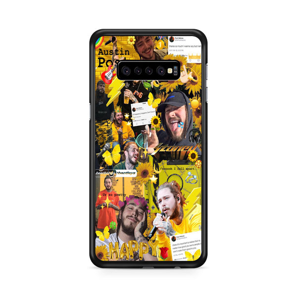 Post Malone Austin Post Photo Collages Samsung Galaxy S10 Plus Case