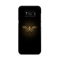 Logo Wonder Woman Justice League Black Diana Prince Samsung Galaxy S8 Plus Case