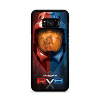 Red Vs Blue Helmet Halo 4 Samsung Galaxy S8 Case