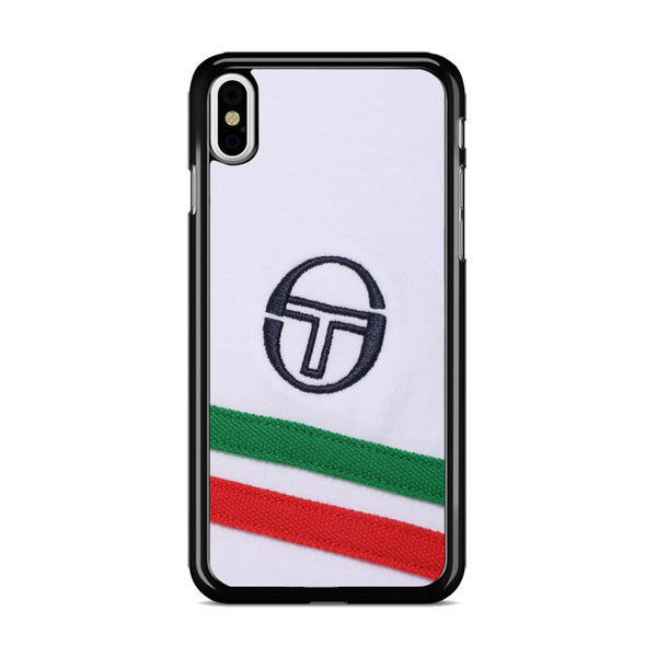 Sergio Tacchini Wear Logo Texture iPhone X Case