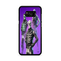 Fortnite Skull Trooper 3 Type Skin Outfit Samsung Galaxy S8 Plus Case