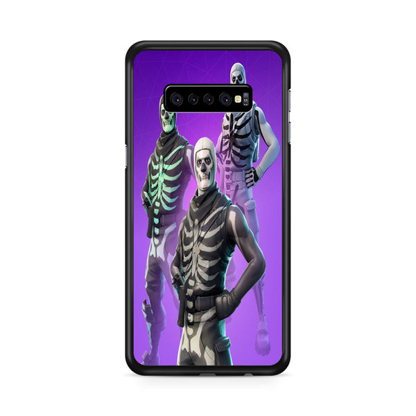 Fortnite Skull Trooper 3 Type Skin Outfit Samsung Galaxy S10e Case