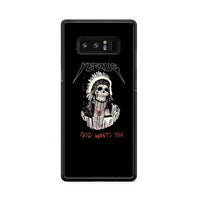 Yeezus God Wants You Skull Indian Apache Samsung Galaxy Note 8 Case