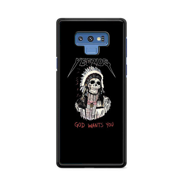 Yeezus God Wants You Skull Indian Apache Samsung Galaxy Note 9 Case