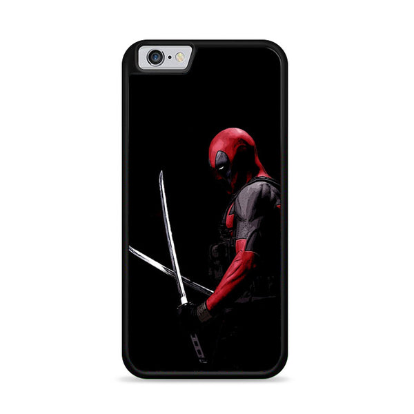 Dark Deadpool Swords iPhone 6|6S Case