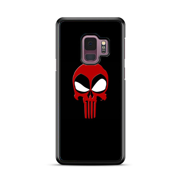 Deadpool And The Punisher Crossover Logo Samsung Galaxy S9 Plus Case