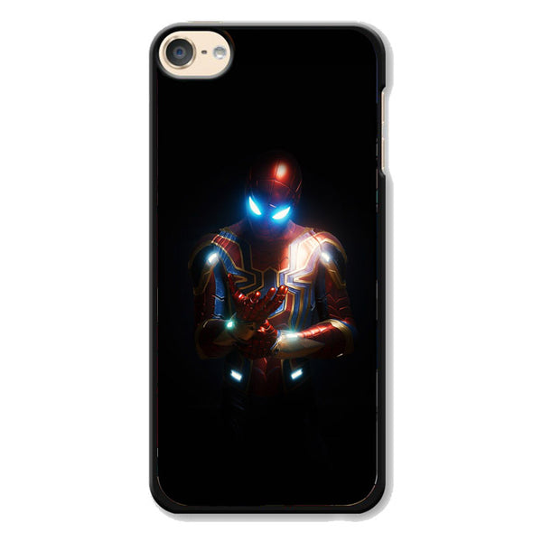 Glowing Iron Spider Man Costume iPod 6 Case