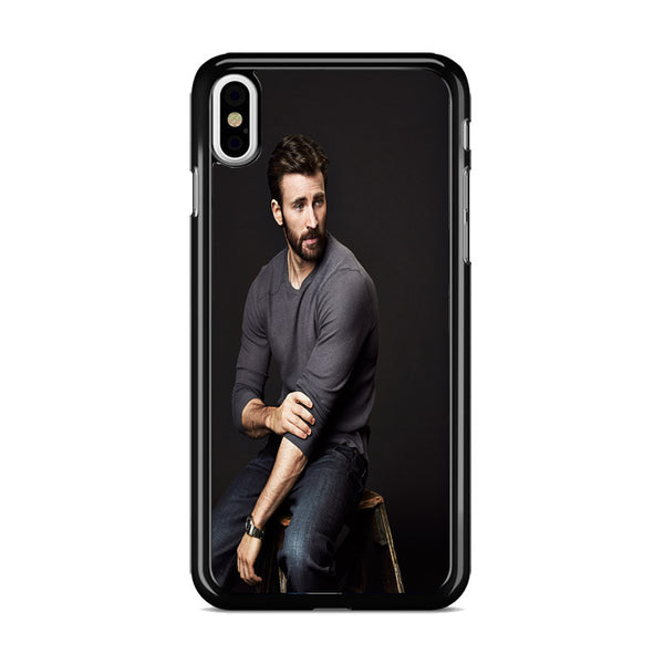 Chris Evans Photo iPhone XS Case