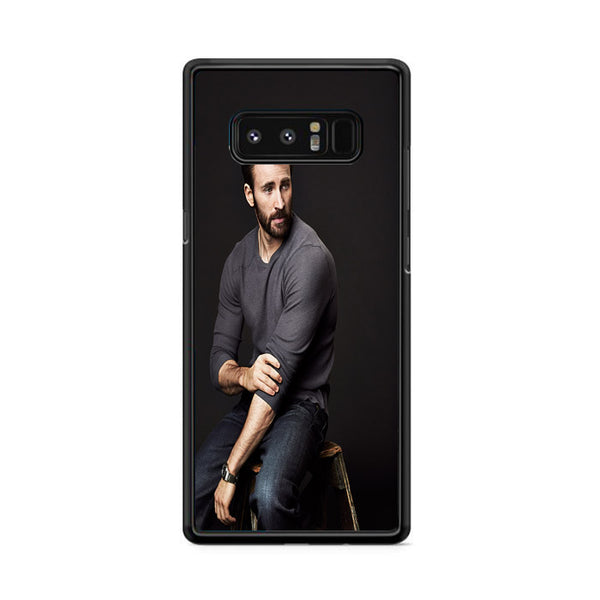 Chris Evans Photo Samsung Galaxy Note 8 Case