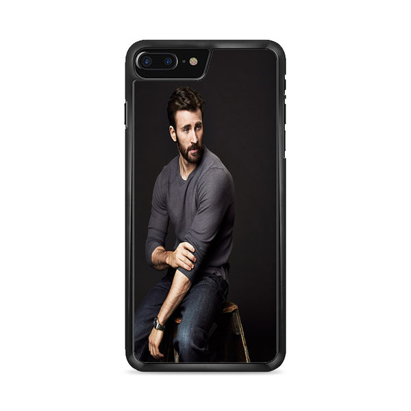 Chris Evans Photo iPhone 8 Plus Case