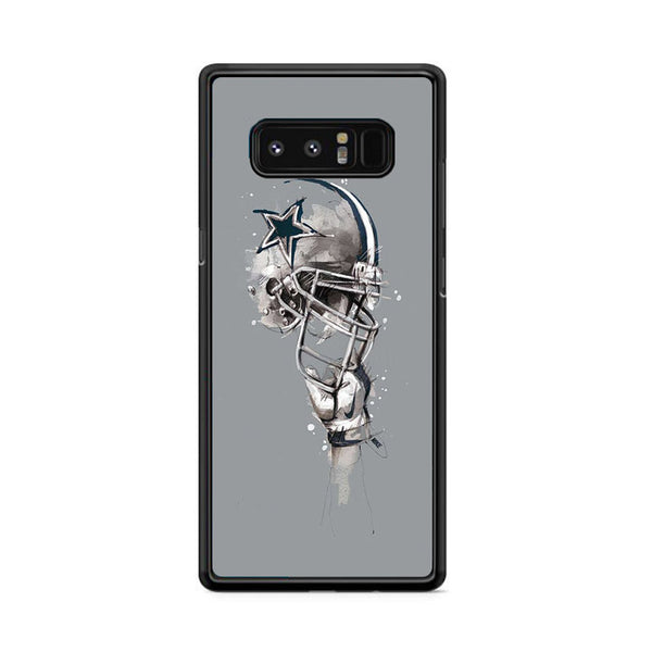 Dallas Cowboys Helmet Painting Florian Nicolle Samsung Galaxy Note 8 Case