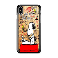 Do You Still Love Me Snoopy iPhone X Case