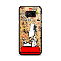 Do You Still Love Me Snoopy Samsung Galaxy S8 Plus Case