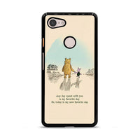 Best Friend Pooh And Piglet Art Google Pixel 3 XL Case
