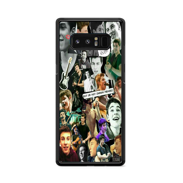 Fondos De Shawn Mendes Collages Samsung Galaxy Note 8 Case