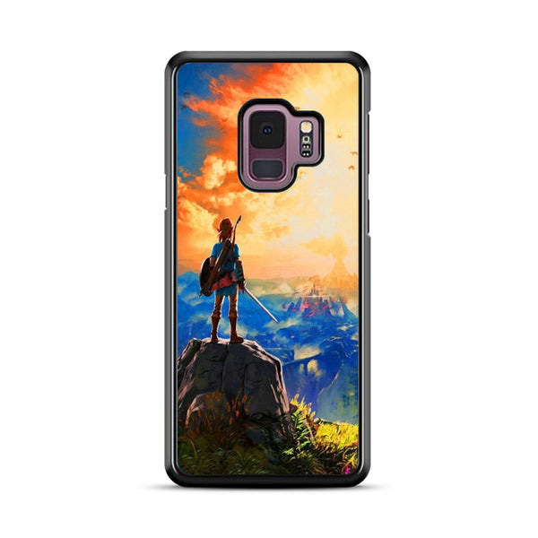 Zelda Breath Of The Wild Sunset Wallpaper Samsung Galaxy S9 Plus Case