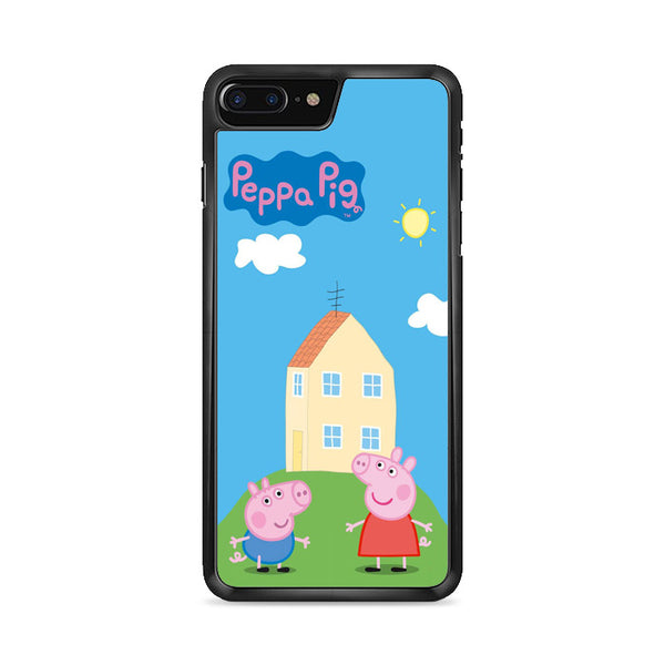 Peppa Pig House iPhone 8 Plus Case