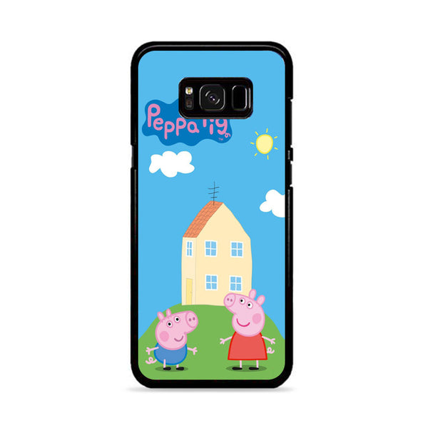 Peppa Pig House Samsung Galaxy S8 Case