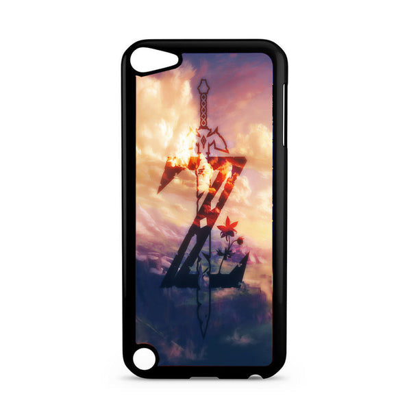 Zelda Logo Sky Wallpaper iPod 5 Case