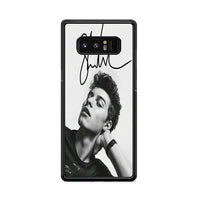 Shawn Mendes Signature Samsung Galaxy Note 8 Case