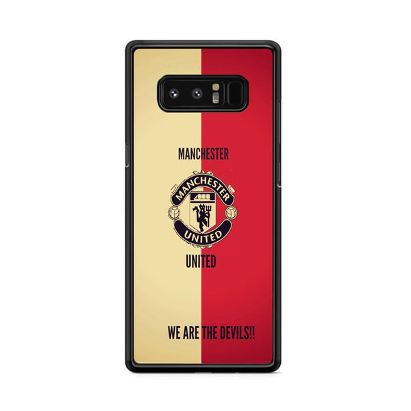 Manchester United Fc We Are The Devils Samsung Galaxy Note 8 Case