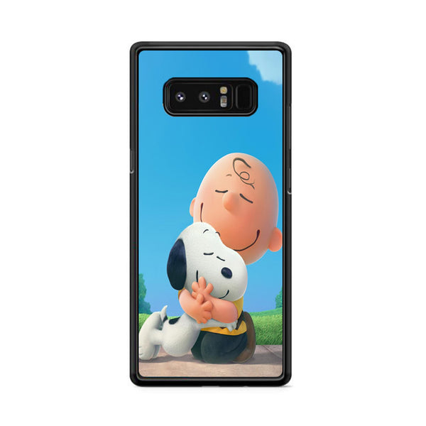 Snoopy Hug Charlie Brown Samsung Galaxy Note 8 Case