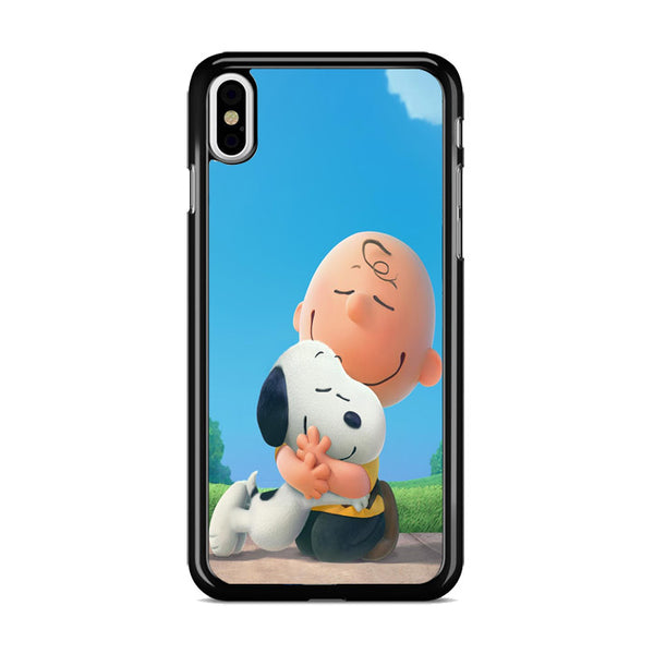 Snoopy Hug Charlie Brown iPhone XS Max Case