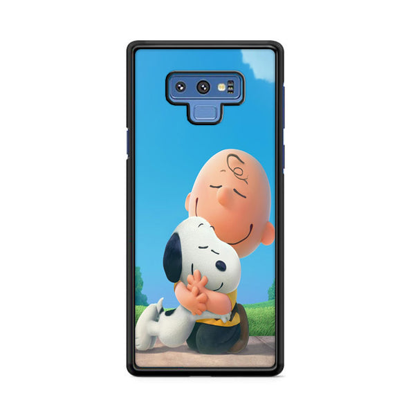 Snoopy Hug Charlie Brown Samsung Galaxy Note 9 Case