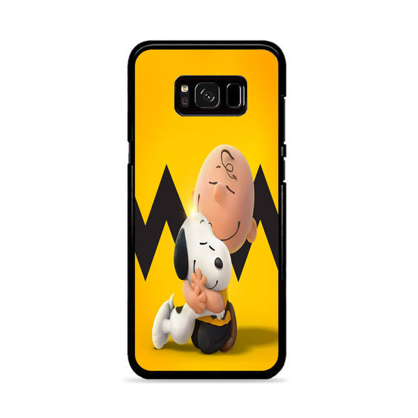 The Peanuts And Snoopy Movie Family Samsung Galaxy S8 Plus Case