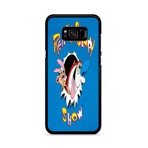 The Ren And Stimpy Show Blue Wallpaper Samsung Galaxy S8 Plus Case