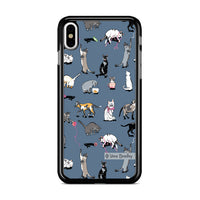 Vera Bradley New Pattern Cats Meow iPhone XS Max Case