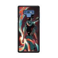 Radiant Comic Witch Seth Power Samsung Galaxy Note 9 Case