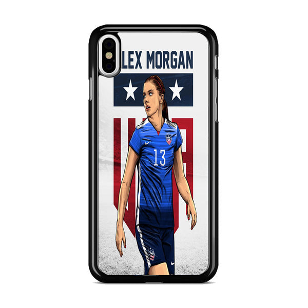 Alex Morgan American Soccer Player iPhone XS Case