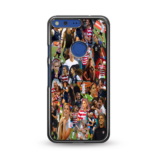 Alex Morgan Collage Woman Soccer Wallpaper Google Pixel Case