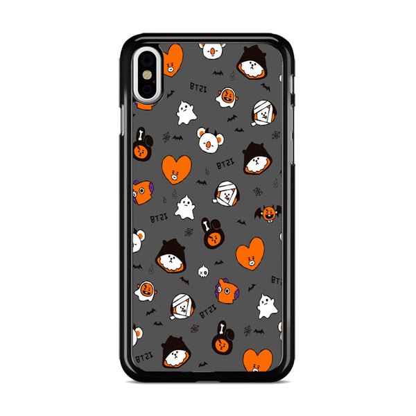 Bts Bt21 Halloween 2 iPhone XS Case