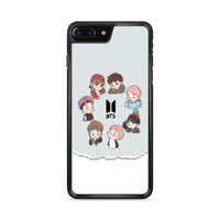 Bts Chibi Art iPhone 8 Plus Case