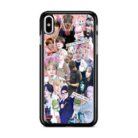 Bts Jimin Collage Wallpaper iPhone XS Max Case