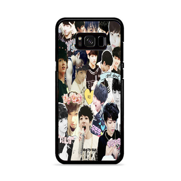 Bts Jungkook Collage Wallpaper Samsung Galaxy S8 Plus Case