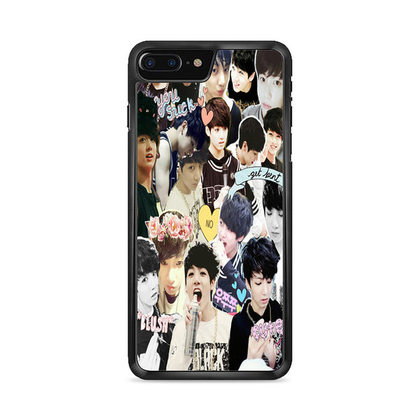 Bts Jungkook Collage Wallpaper iPhone 8 Plus Case