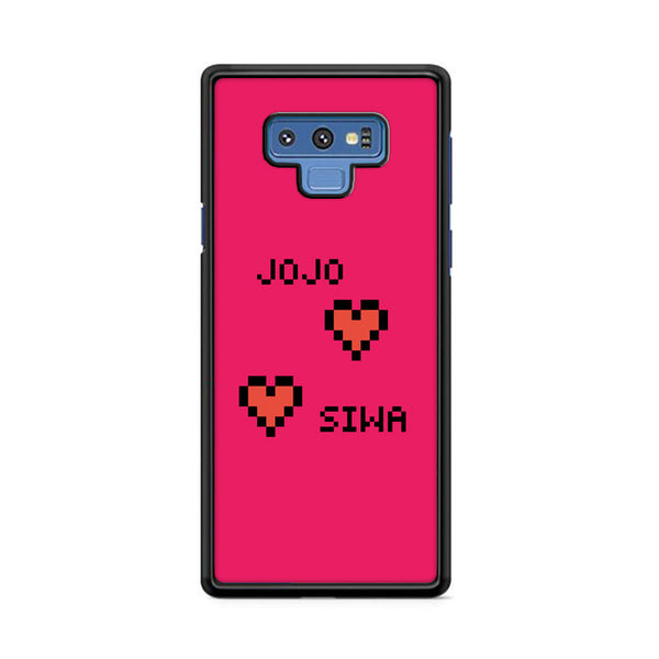 Jojo Siwa Heart Pixel Wallpaper Samsung Galaxy Note 9 Case