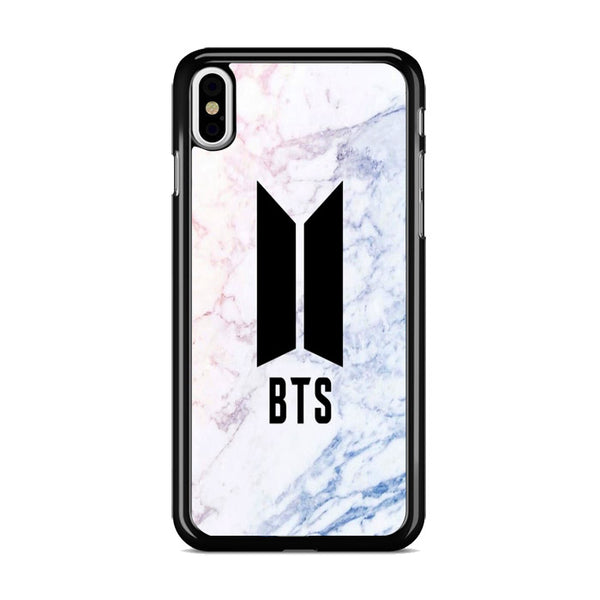 Bts Logo Marble iPhone X Case