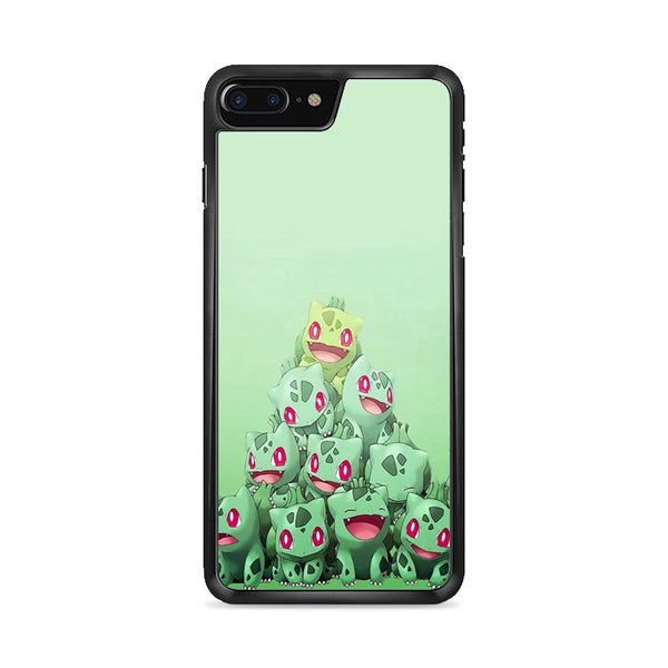 Bulbasaur Pokemon Green Collage iPhone 8 Plus Case