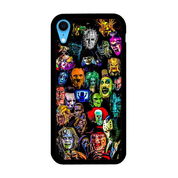 All Horror Characters Collection iPhone XR Case