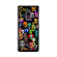 All Horror Characters Collection Samsung Galaxy S9 Plus Case
