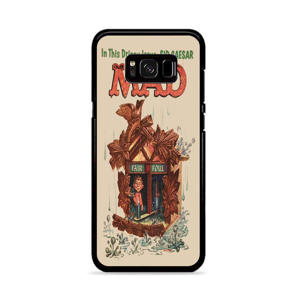 Mad Sadic Comics Humor Funny Poster Samsung Galaxy S8 Plus Case