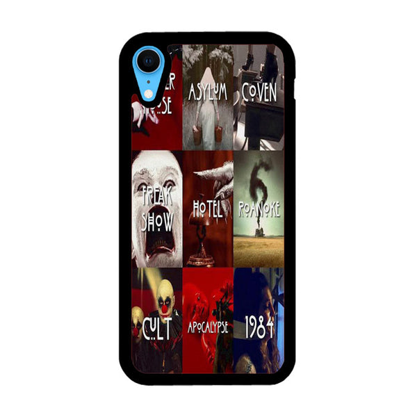 American Horror Story All Poster iPhone XR Case