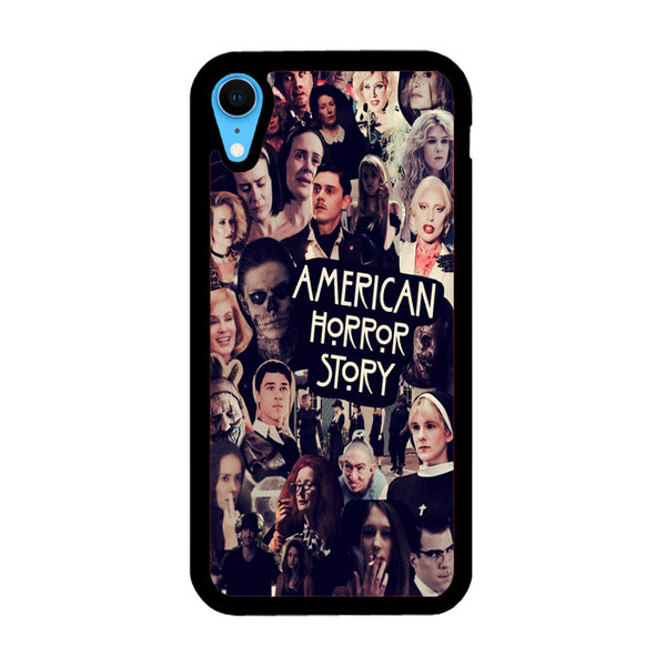 American Horror Story Characters Collage iPhone XR Case