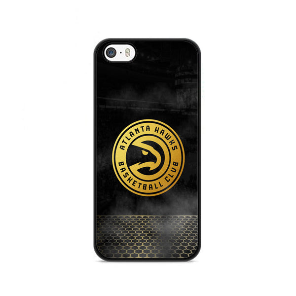 Atlanta Hawks Basketball Club Gold Logo iPhone 5|5S|SE Case
